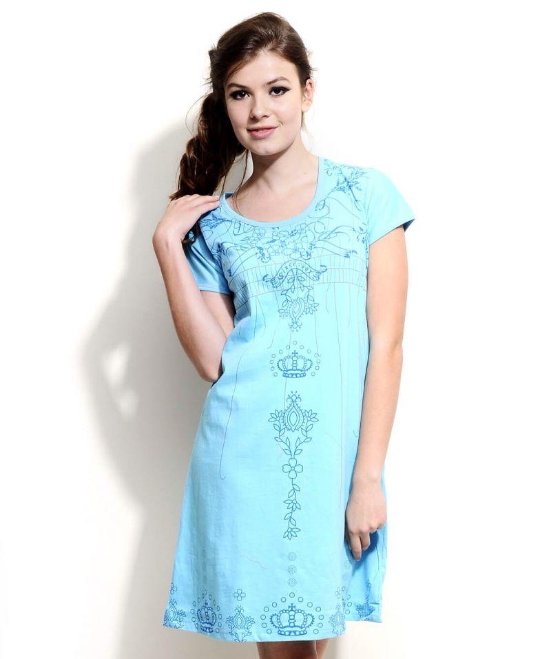 Buy Fasense Women Cotton Nightwear Sleepwear Short Nighty Ss033 B online c73f80c90568