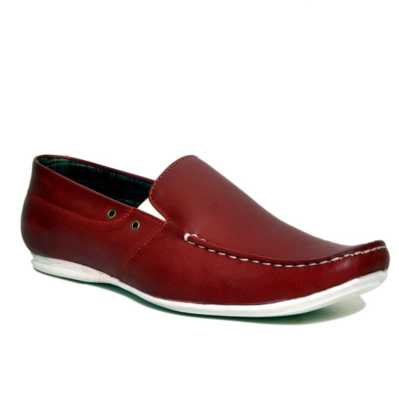 745c6ecceb2 Buy Stylox Dark Red Loafer Shoes Online