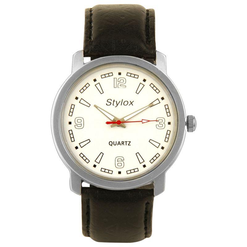 Buy Stylox Men,s Watch (white Dial) online