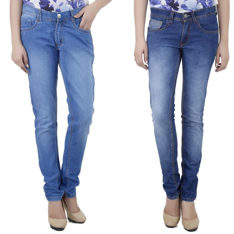 Buy Stylox Set Of 2 Ladies Denim online