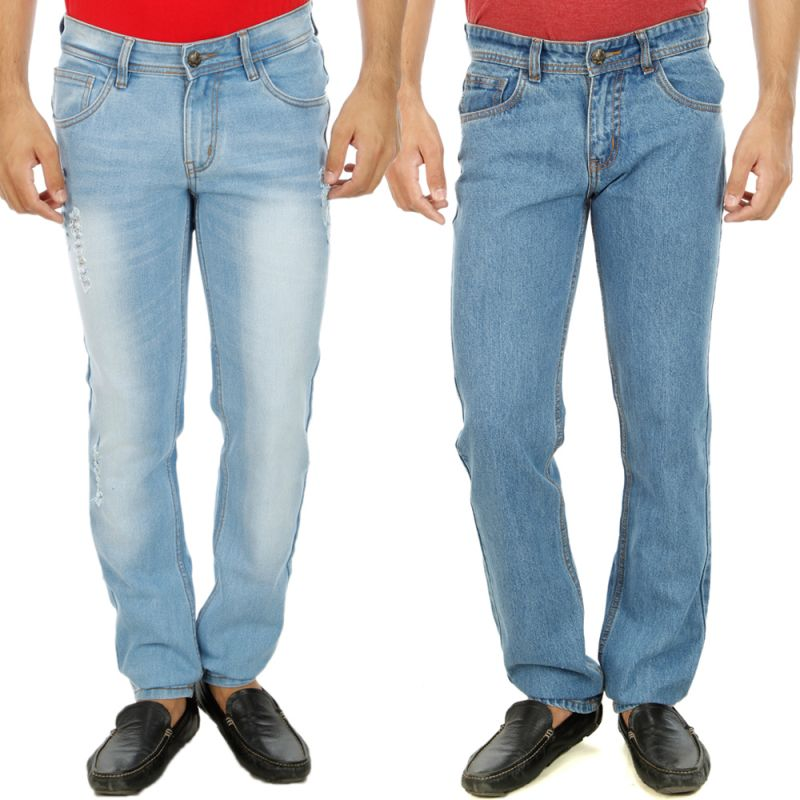 Buy Stylox Mens Set Of 2 Regular Fit Denim - ( Product Code - Dn-6001-7-2dnm ) online