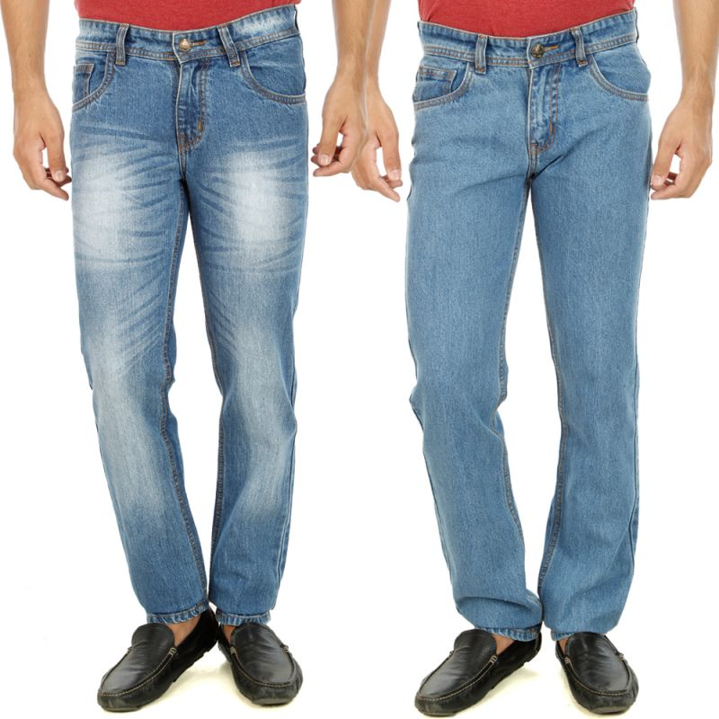 Buy Stylox Mens Set Of 2 Regular Fit Denim - ( Product Code - Dn-6003-7-2dnm ) online