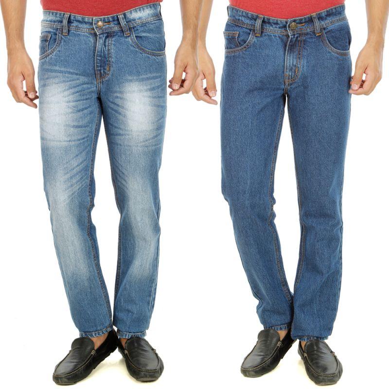 Buy Stylox Mens Set Of 2 Regular Fit Denim - ( Product Code - Dn-6003-9-2dnm ) online