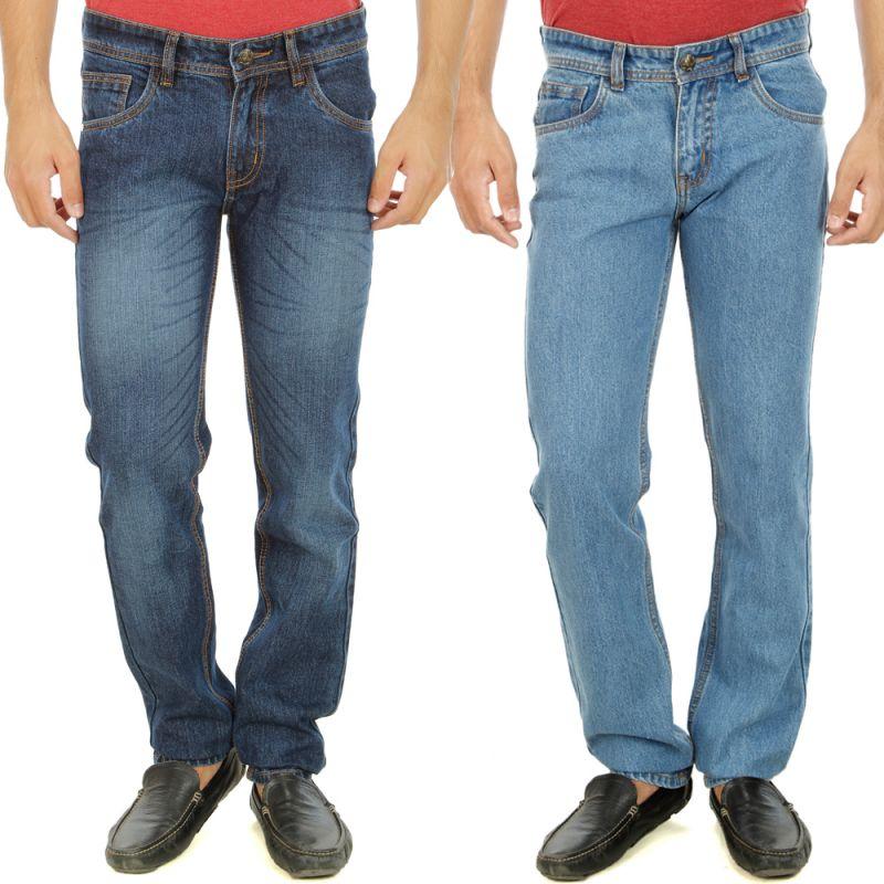 Buy Stylox Mens Set Of 2 Regular Fit Denim - ( Product Code - Dn-6005-7-2dnm ) online