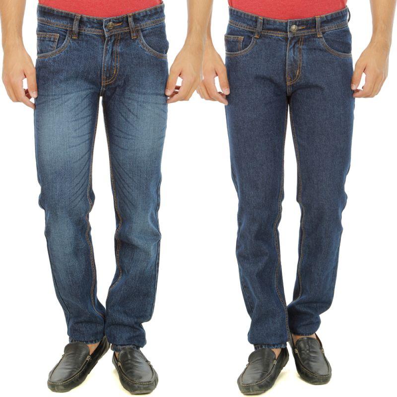 Buy Stylox Mens Set Of 2 Regular Fit Denim - ( Product Code - Dn-6005-8-2dnm ) online