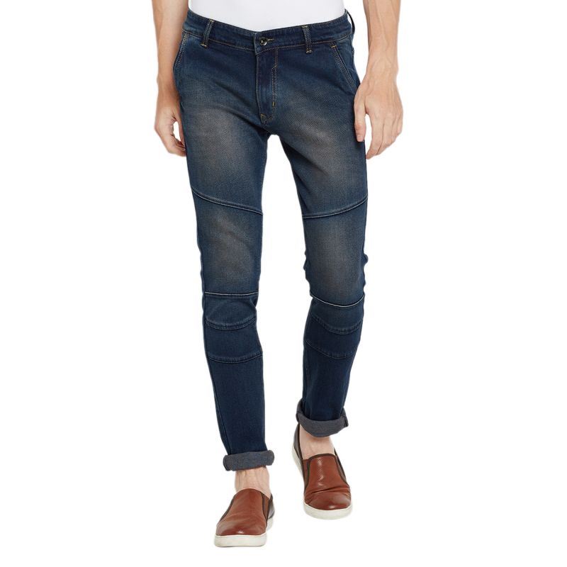 Buy Stylox Men'S Premium Stretchable Slim Fit Mid Rise Light Shaded Jeans online