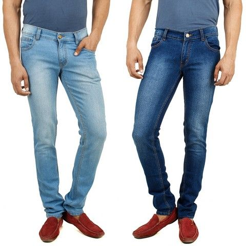 Buy Stylox Stylish Set Of 2 Denim [204.5] online