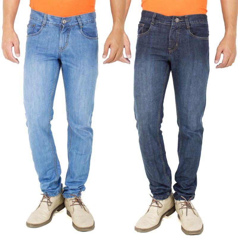 Buy Stylox Set Of 2 Denim Jeans For Men _code(3.1_2) online