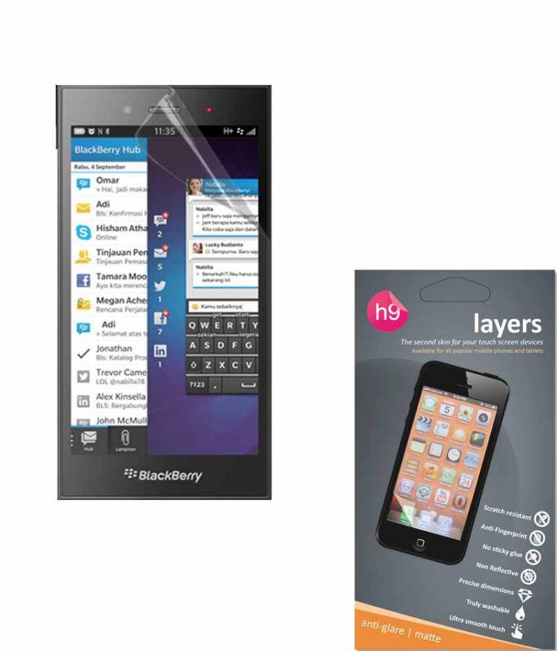 Buy Layers Blackberry Z3 Matte Screen Guard online
