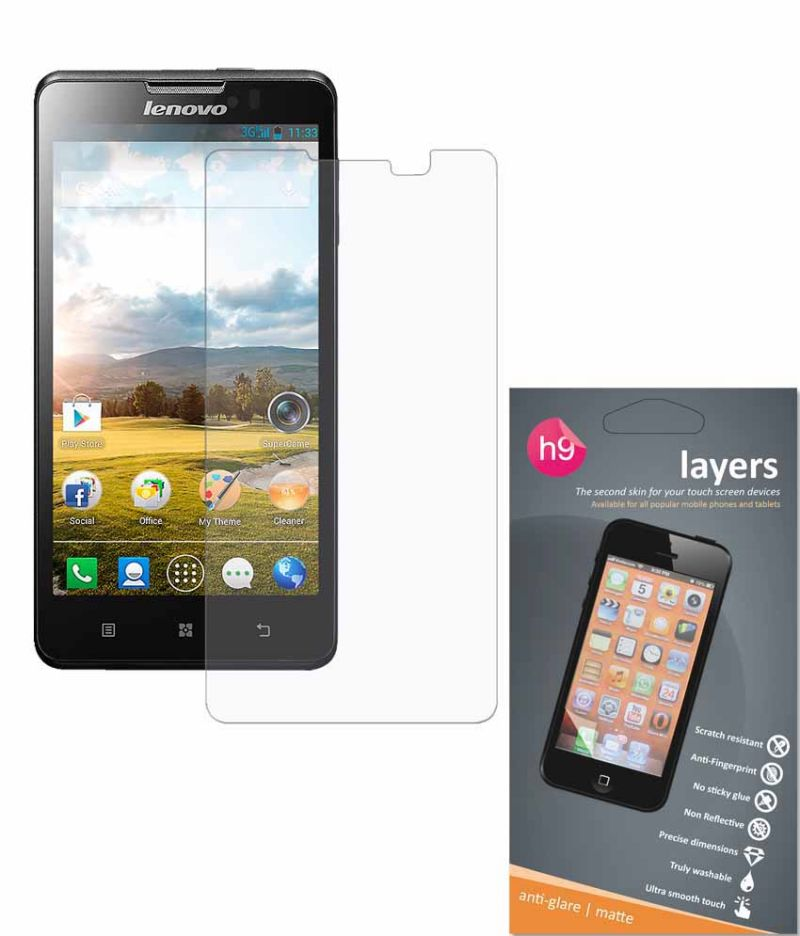 Buy Layers Lenovo P780 Matte Screen Guard online