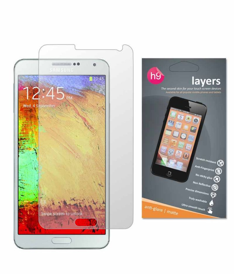 Buy Layers Samsung Galaxy Note 3 Matte Screen Guard online