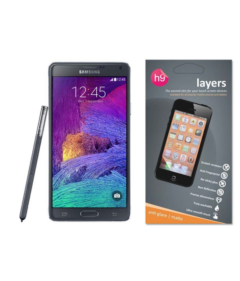 Buy Layers Samsung Note 4 Matte Screen Guard online