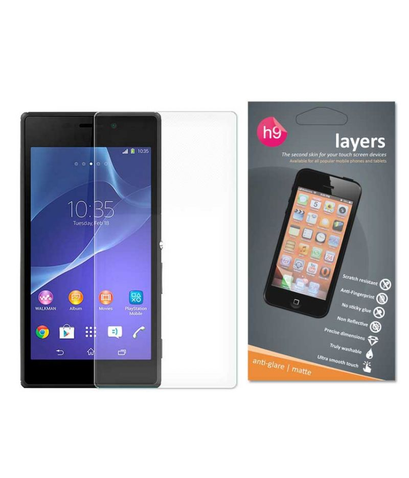 Buy Layers Sony Xperia M2 Matte Screen Guard online