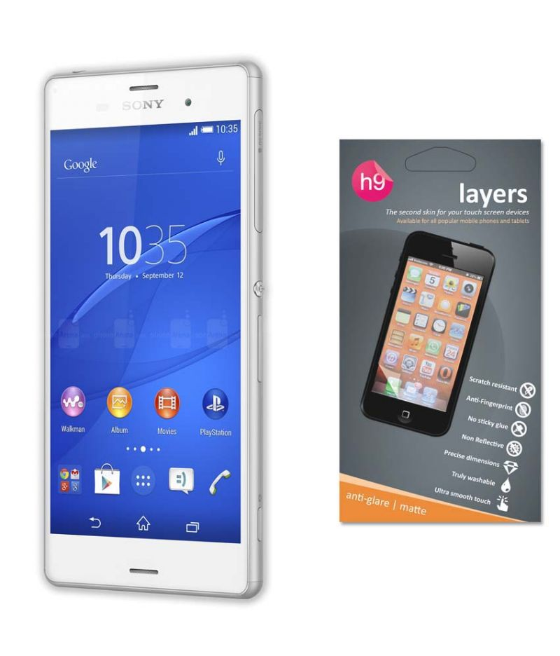 Buy Layers Sony Xperia Z3 Matte Screen Guard online