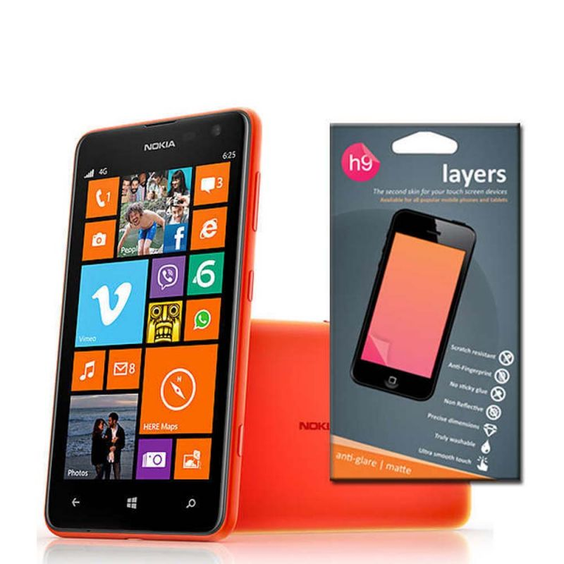 Buy Nokia Lumia 625 Matte Screen Guard With Anti-reflection online