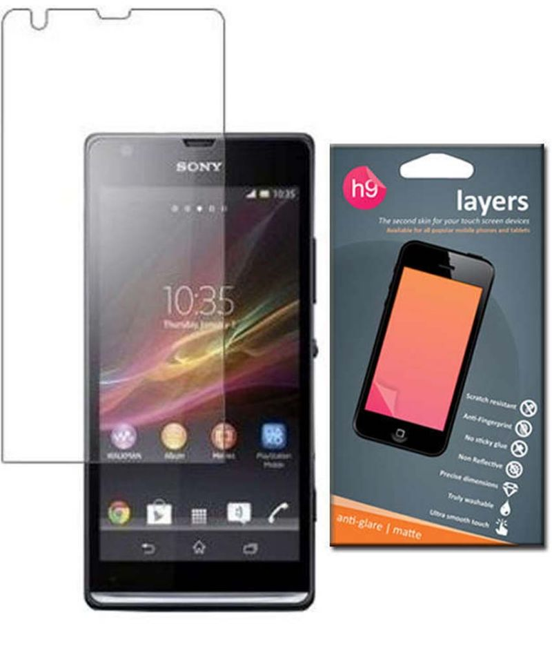 Buy Layers Sony Xperia Sp Matte Screen Guard online