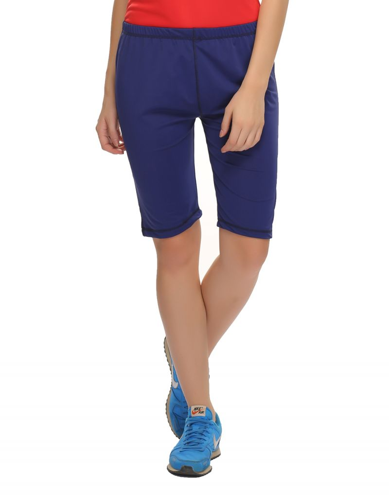 Buy Clovia Polyamide, Spandex Stretchy High Rise Snug Hot Shorts (product Code - At0018p08 ) online