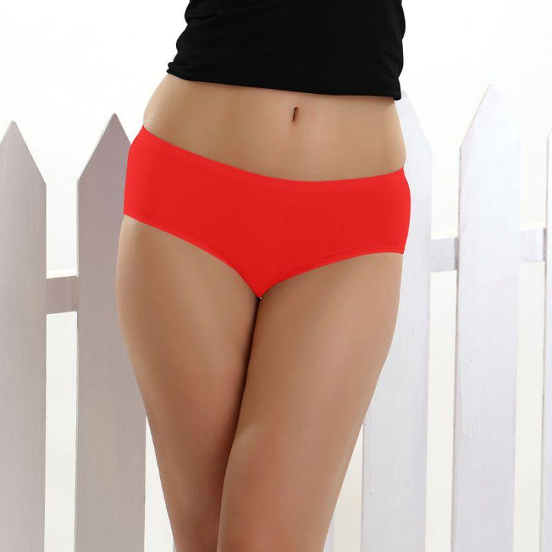 Buy Cloe Comfort Modal Brief In Red Pn0098w04 online