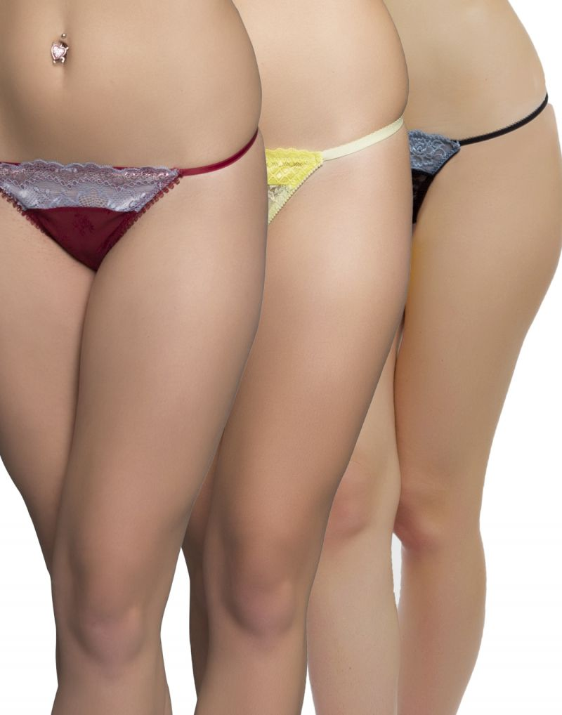 Buy Clovia Pack Of 3 Panty-(product Code- Combopn45) online