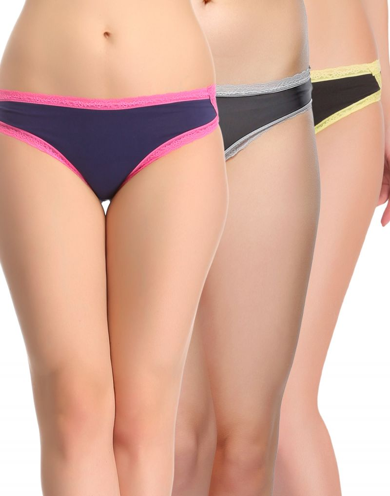 Buy Clovia Pack Of 3 Panty-(product Code- Combopn83) online