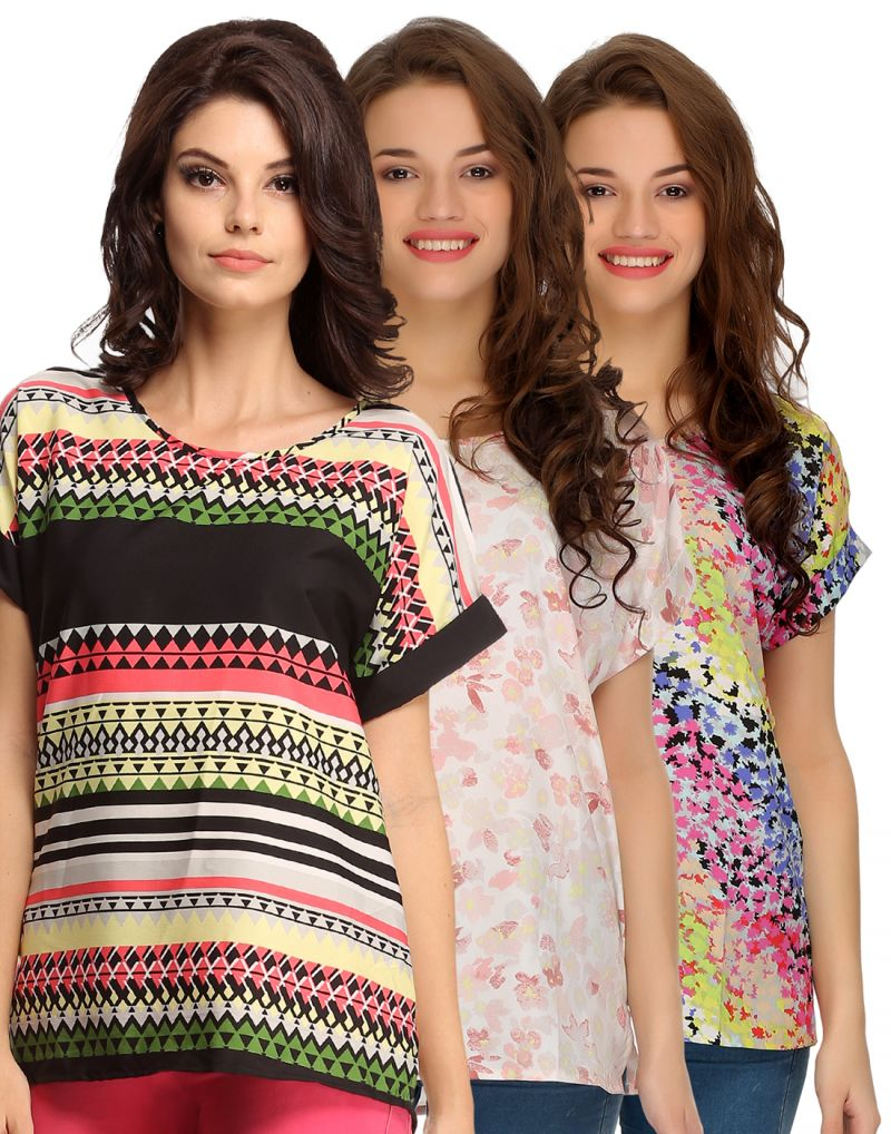 Buy Clovia Pack Of 3 Tops For Women-(product Code-comboww01) online