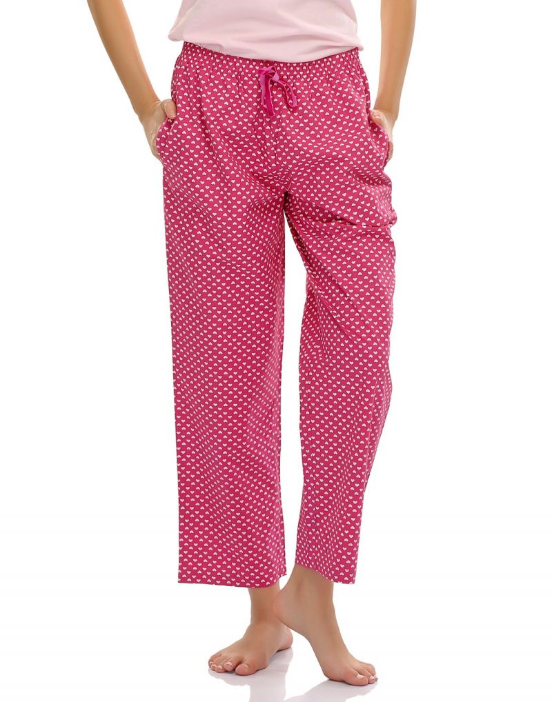 Buy Clovia Sweetheart Comfy Cotton Pyjama Ns0413p22 online