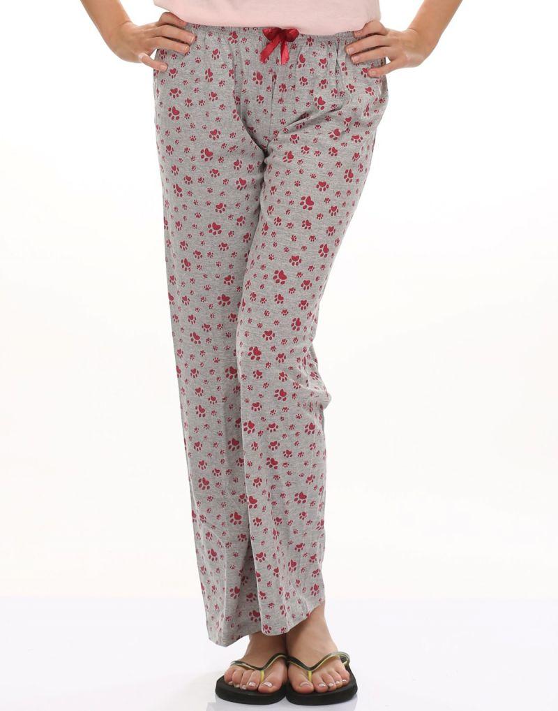 Buy Clovia Cute Paws Cotton Pyjama Ns0438p01 online