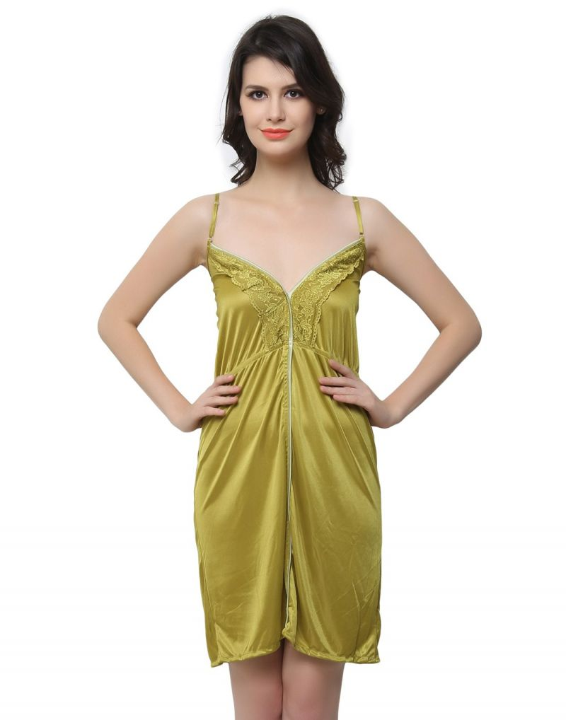 Buy Clovia Sexy Nightdress In Pearl Green Ns0444p11 online