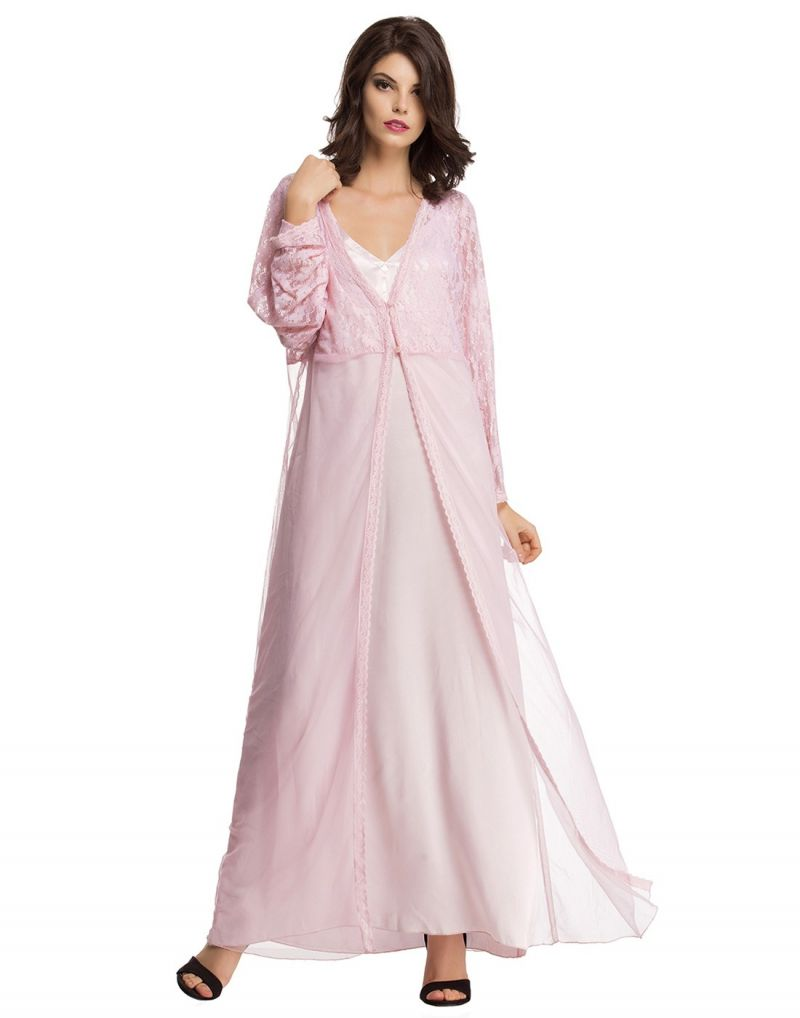 Buy Clovia 2 PC Pretty Pink Nightwear Set Ns0610p22 online