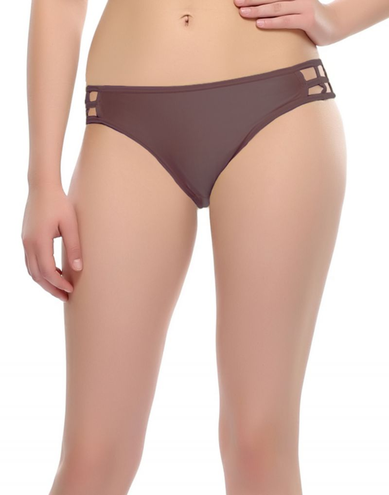 Buy Clovia Polyamide With Spandex Bond Girl Brief In Mauve Pn0331p15 (product Code - Pn0331p15 ) online
