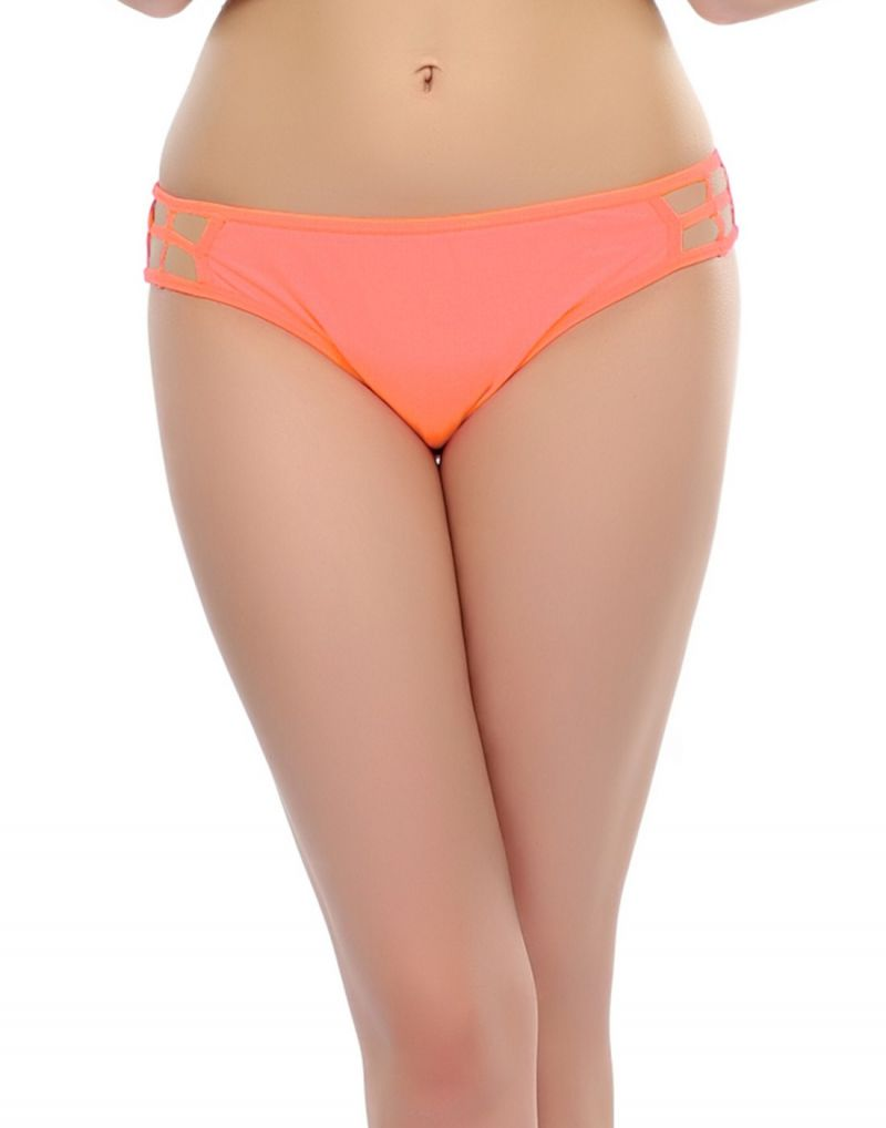 Buy Clovia Bond Girl Brief In Bright Peach Pn0331p16 online