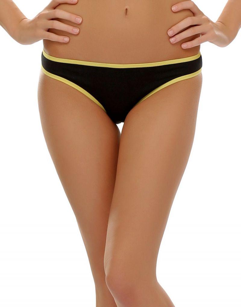 Buy Clovia Funky Message Bikini In Black Pn0383p13 online