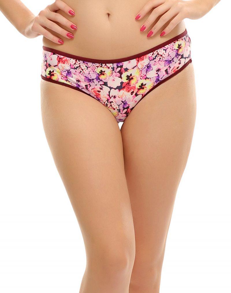 Buy Clovia Lacy Bikini In Floral Prints Pn0397p15 online