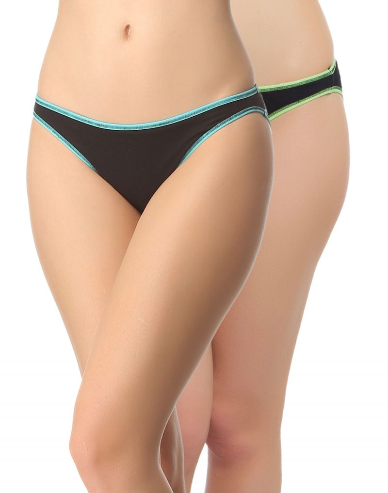 Buy Clovia Pack Of 2 Panty In Multi Color-(product Code-pnc001c16) online