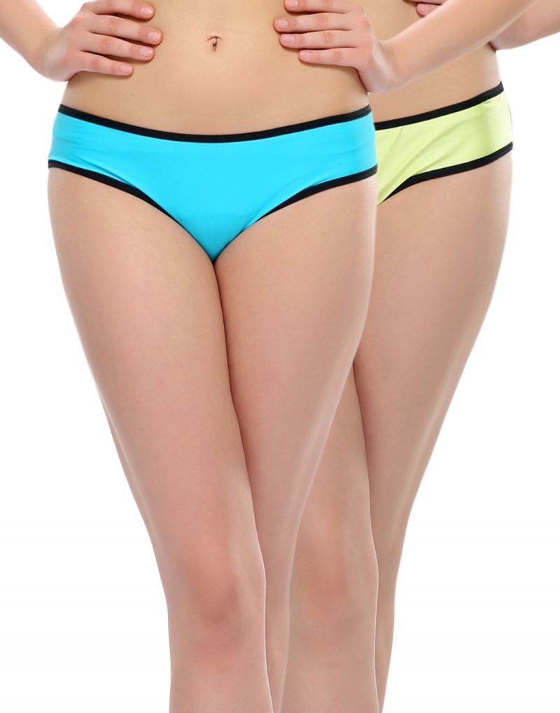 Buy Clovia Pack Of 2 Panty In Multi Color online