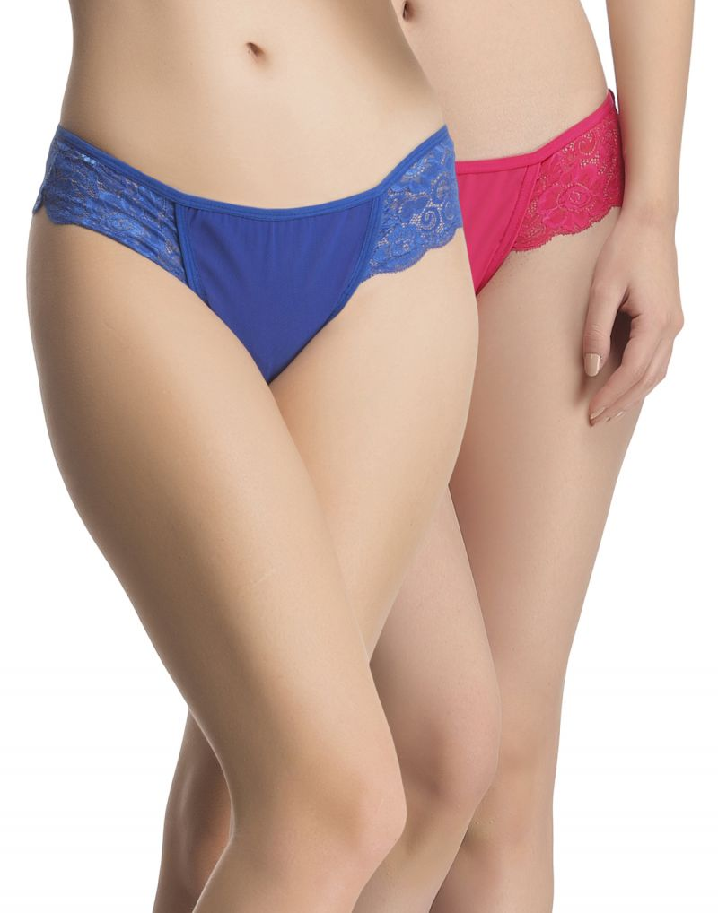 Buy Clovia Pack Of 2 Panty In Multi Color-(product Code-pnc001c93) online