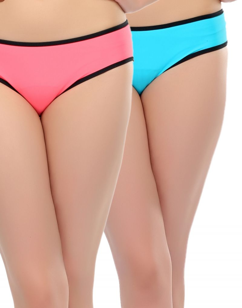 Buy Clovia Polyamide With Spandex Trendy Brief With Power Net online