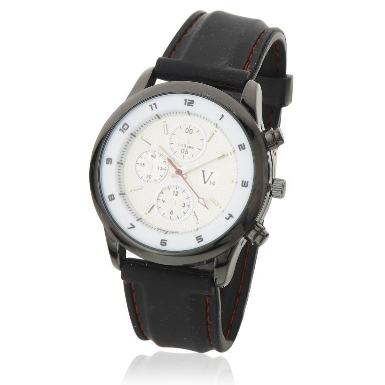 Buy Mens Stylish Wrist Watch Fiber Belt Mw1702 online