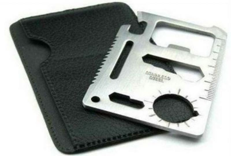 Buy 11 in 1 Stainless Steel Survival Tool Kit Pocket online