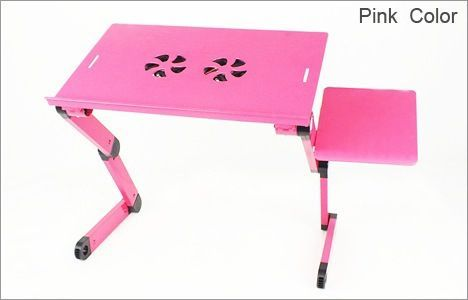 Buy Heavy Duty Advance Foldable Laptop Table Etable-pink online
