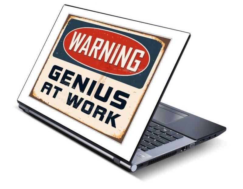 Buy Genius Laptop Notebook Skins High Quality Vinyl Skin - Lp0515 online
