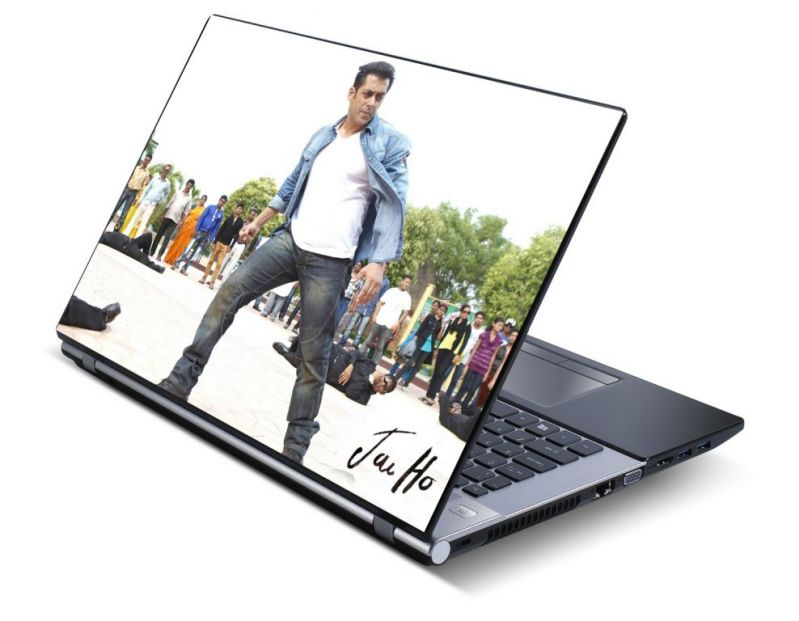 Buy Salman Khan Laptop Notebook Skins High Quality Vinyl Skin - Lp0517 online