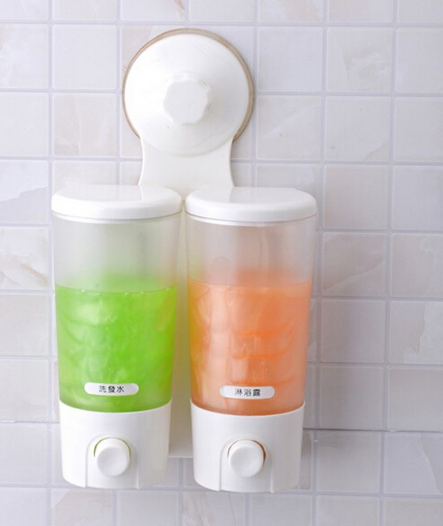 Buy Shopper52 Portable Suction Double Liquid Soap Dispenser online