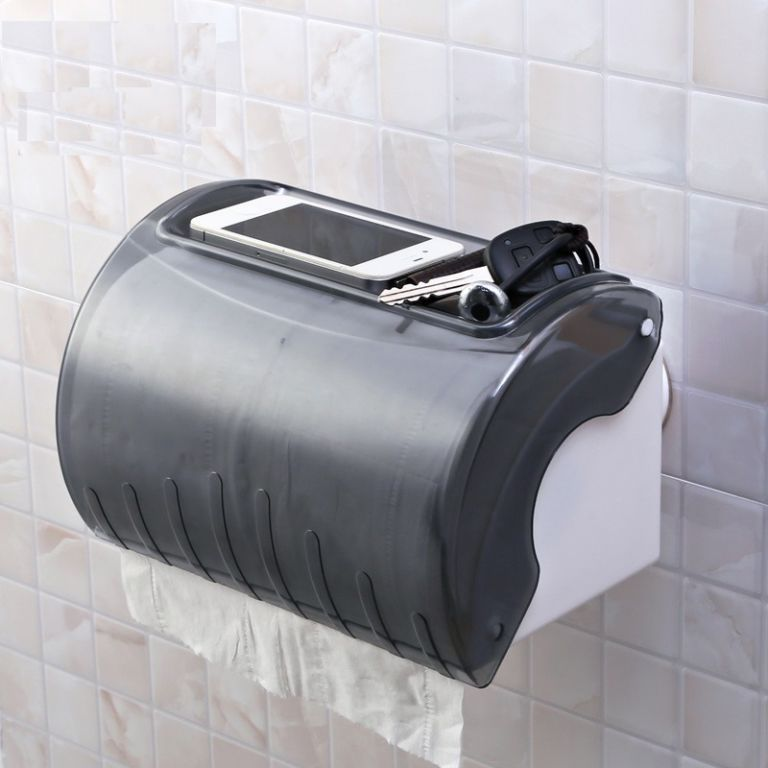 Buy Shopper52 Portable Suction  Waterproof Roll Paper Holder Plane online
