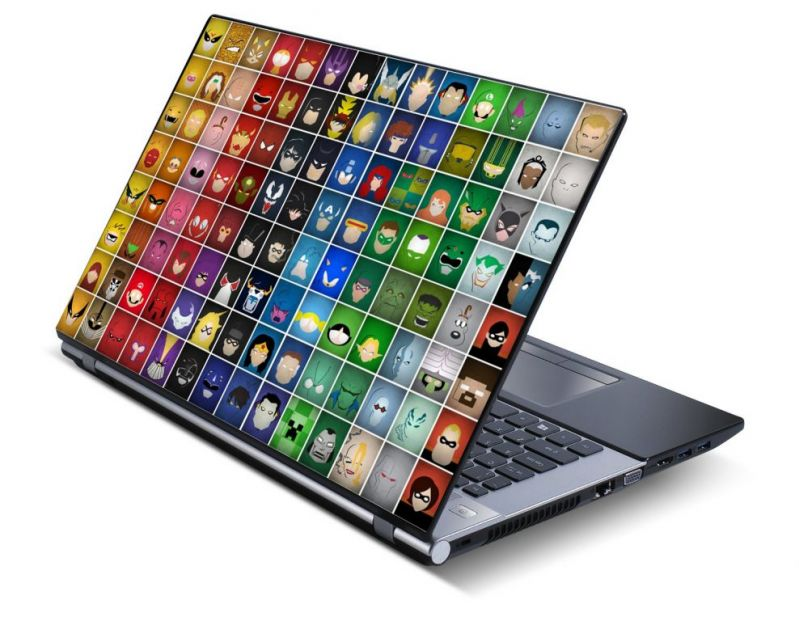 Buy Comic & Carttons Laptop Notebook Skins High Quality Vinyl Skin - Lp0527 online