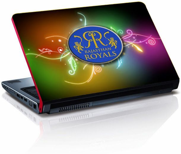 Buy Rajasthan Royals Cricket Laptop Skin - Lp0431 online