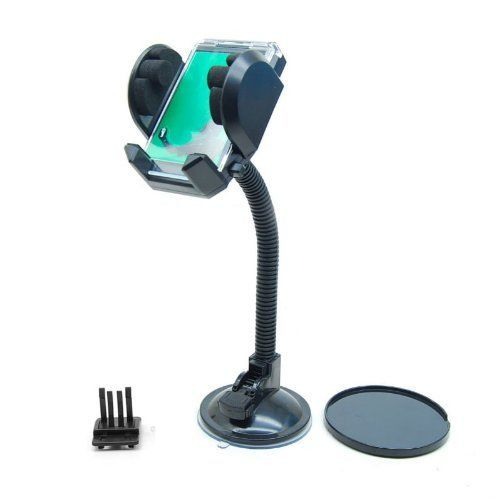 Buy Car Holder Stand Mobile Mount 4 Galaxy iPhone 5 S4 Note S3 Samsung GPS online