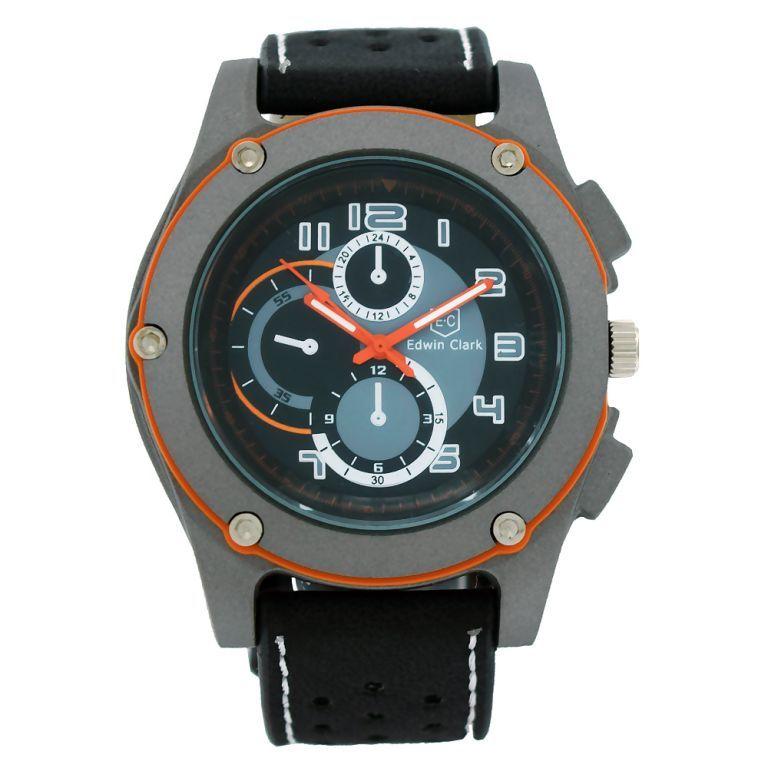 Buy Edwin Clark Analog Chronograph Wrist Watch For Men - Mw-061 online