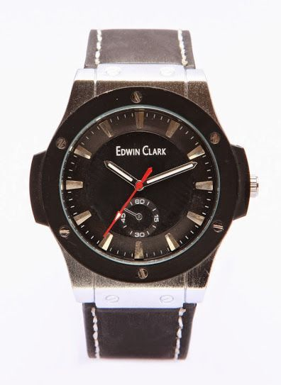 Buy Edwin Clark Analog Chronograph Watch For Men online