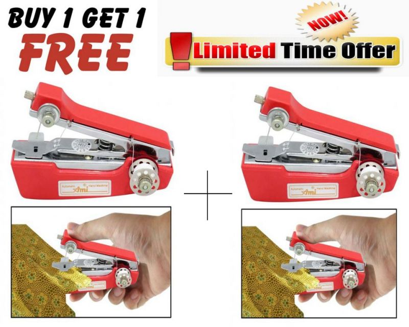 Buy Buy 1 Get 1 Free! Handheld Mini Portable Sewing Machine Stapler Model online